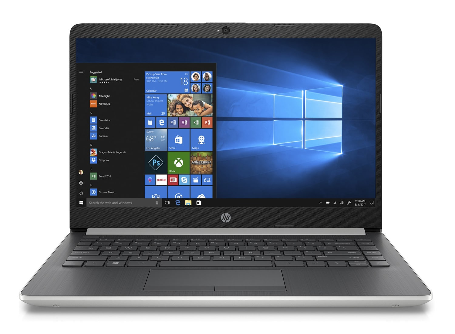 "HP 14-cm0023nf, PC 14"" léger gros stockage pas cher (199€)"