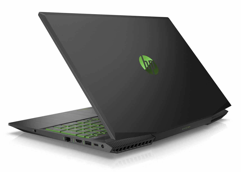 HP Pavilion 15-cx0031nf, PC portable vert/noir polyvalent (829€)