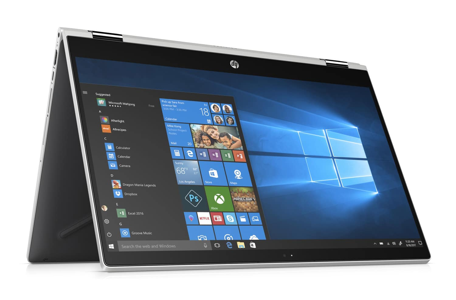 "HP Pavilion x360 15-cr0002nf, 15"" tactile multimédia (999€)"