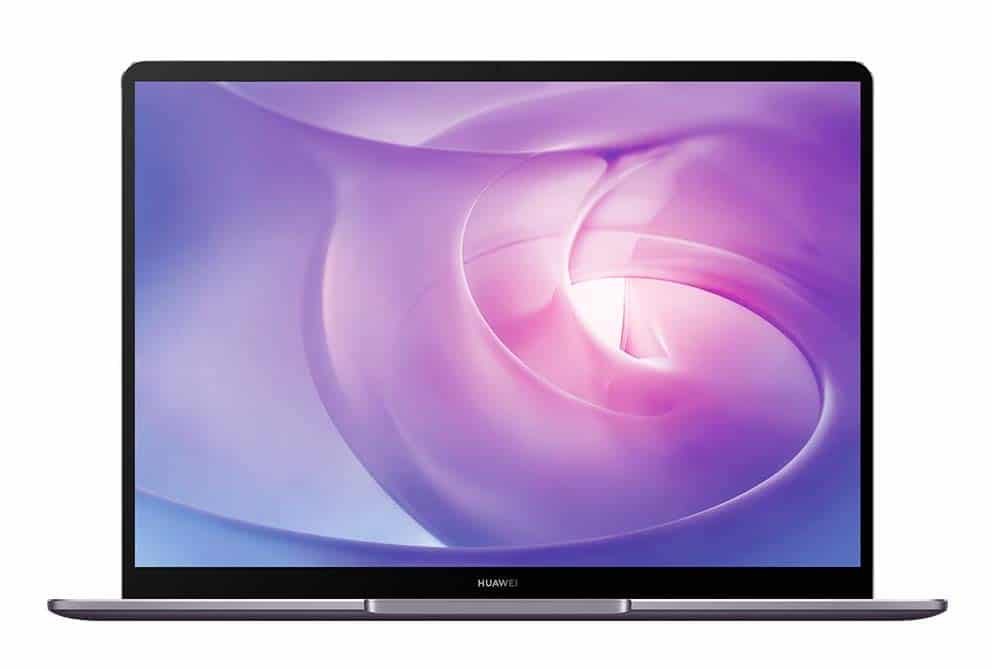 Huawei MateBook 13, 13 pouces design 2K borderless (899€)