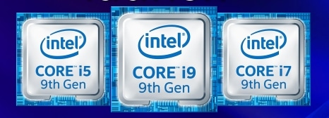 Intel Coffee Lake Refresh 9eme Gen