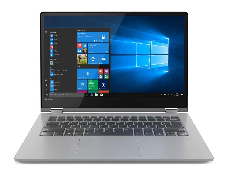 "Lenovo Yoga 530-14IKB, Ultra 14"" Tablette SSD 512 Go 7h (899€)"