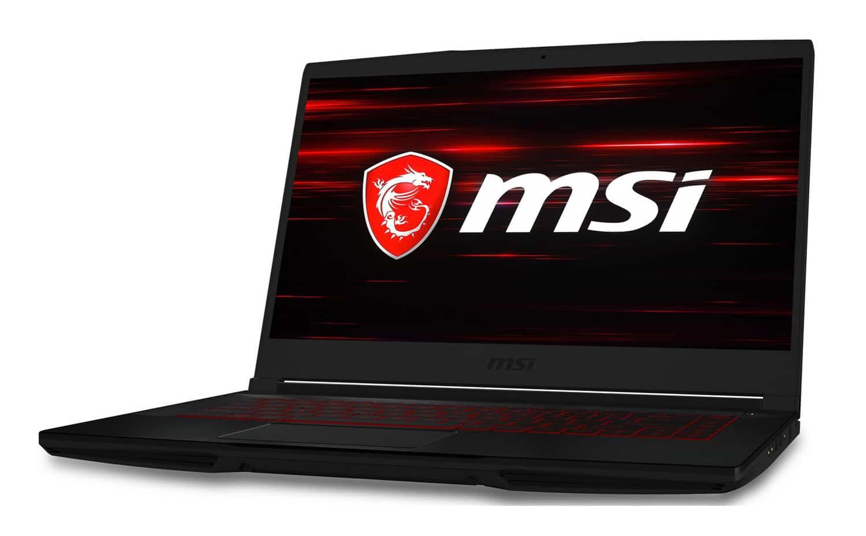 MSI GF63 8RC-471FR, 15 pouces jeu écran borderless (976€)