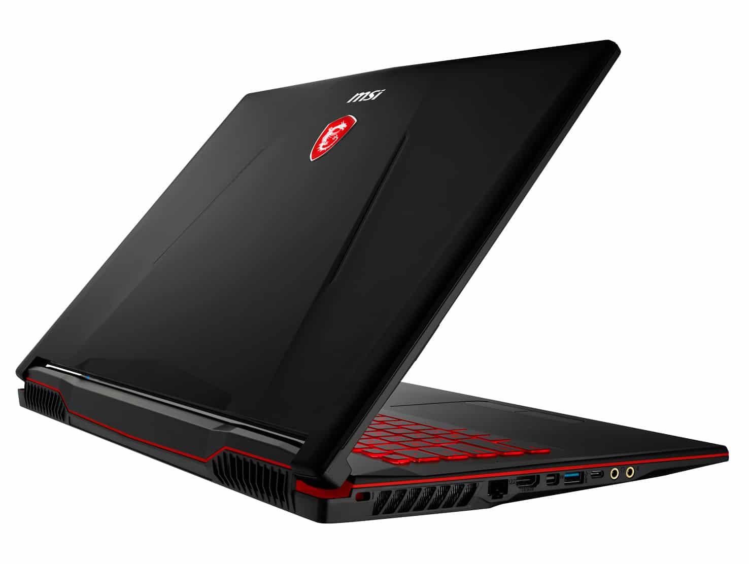 "MSI GL73 8RD-420FR, PC portable 17"" gamer GTX 1050 Ti (989€)"