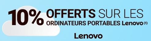 Rue du Commerce Réductions Lenovo Paques