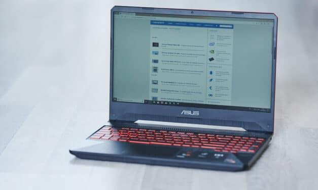 """<span class=""""tagtitre"""">Test Asus TUF505DY - </span>AMD de retour dans un PC portable"""