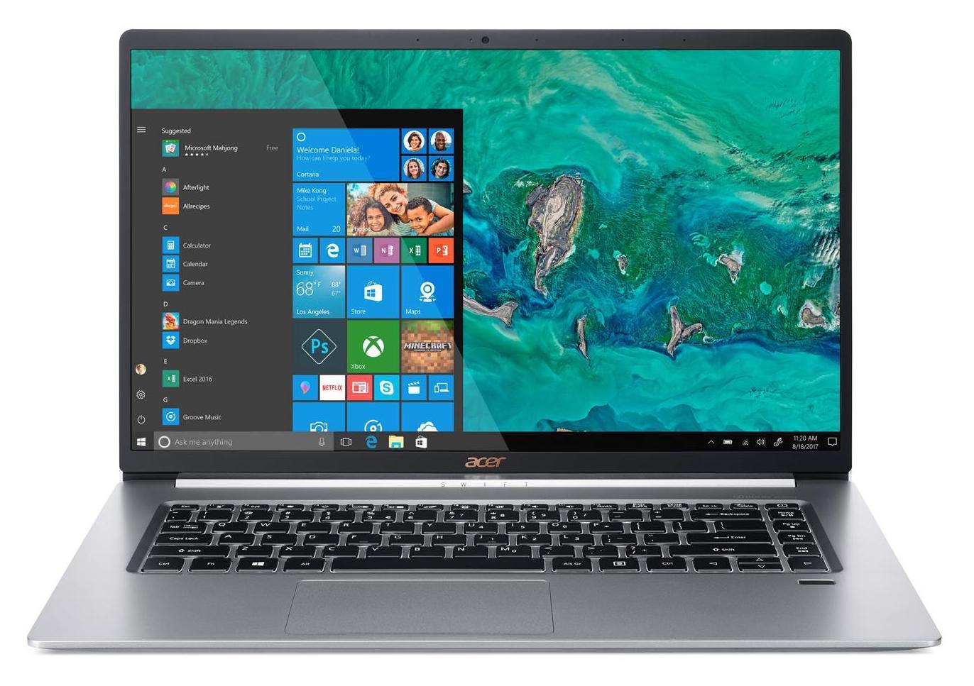 """Acer Swift SF515-51T-70AJ, 15"""" tactile léger réactif (1299€)"""