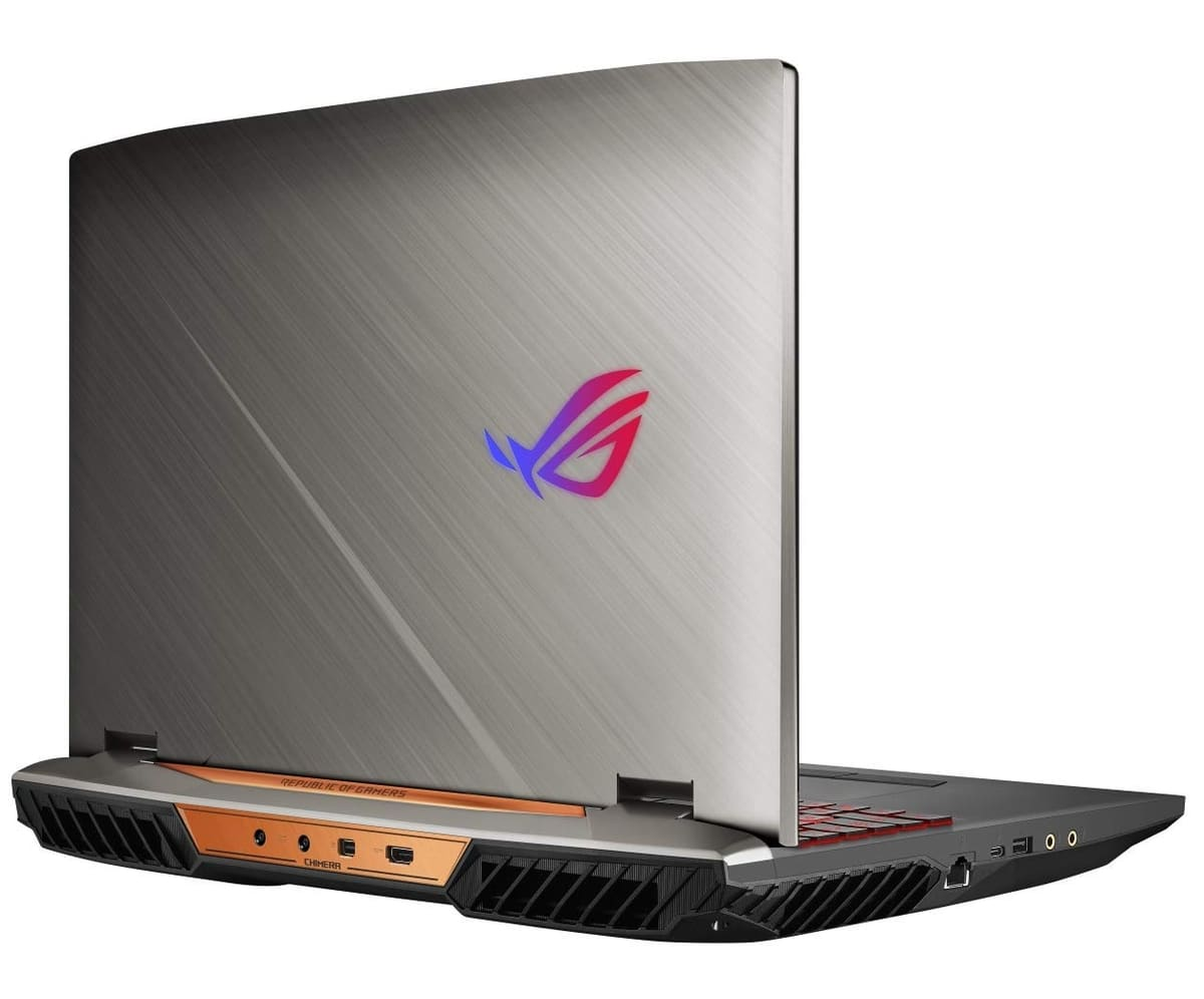 "Asus ROG Griffin GZ755GXR, PC portable 17"" gamer RTX 2080 Core i7-9"