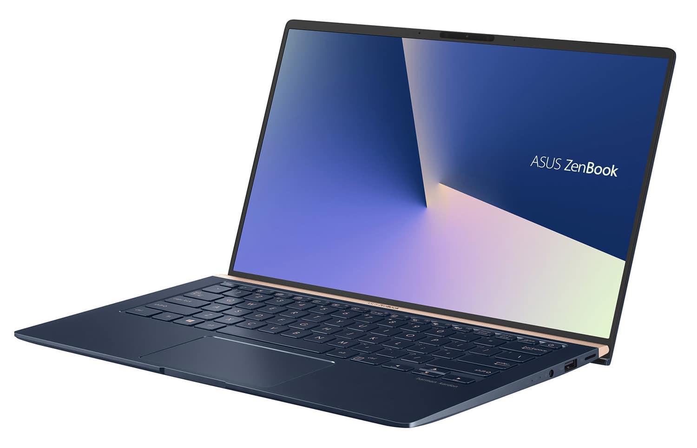 """Asus UX433FA-A6044T, 14"""" bleu borderless NumPad (1199€)"""