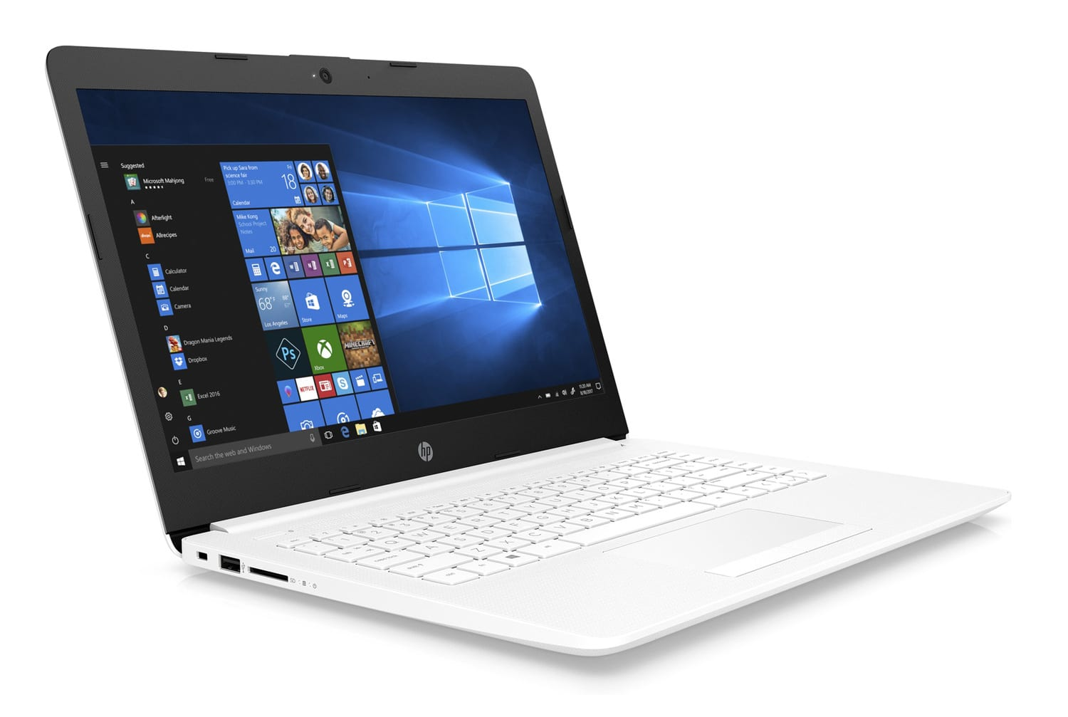 HP 14-cm0032nf, PC portable 14 pouces IPS blanc gros stockage (449€)