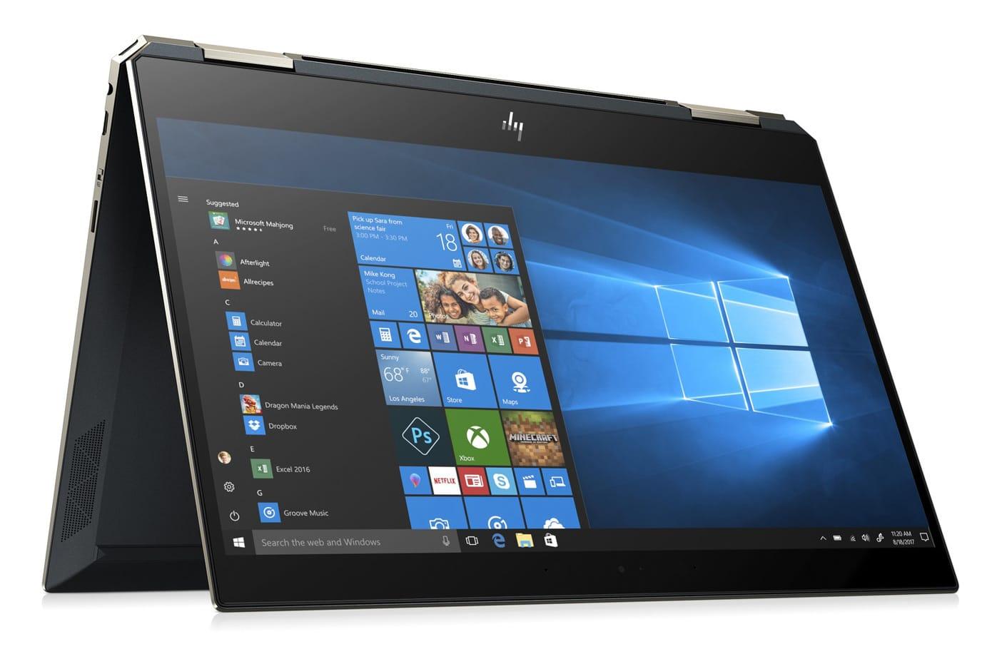 """HP Spectre x360 13-ap0010nf, 13"""" tablette tactile bleu 4K (1784€)"""