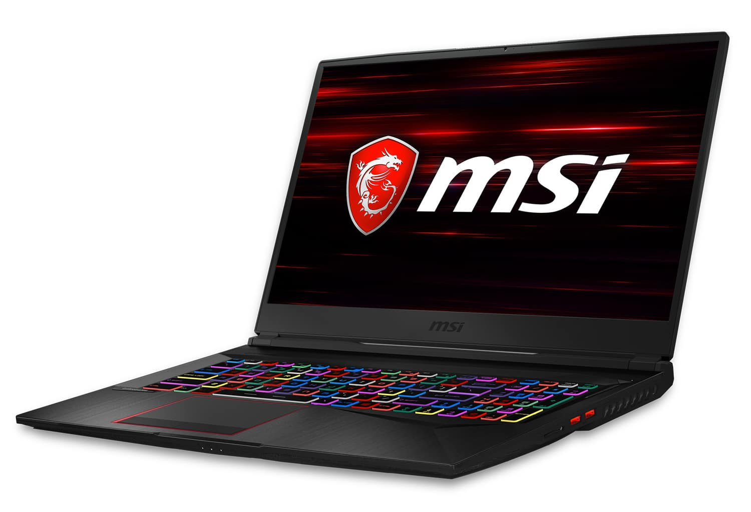 MSI GE75 8SE-062XFR, 17 pouces compact gamer RTX (1869€)