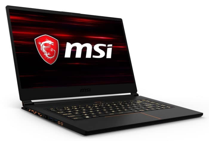 "MSI GS65 8SE-056FR, ultrabook gamer 15"" RTX 2060 (1999€)"