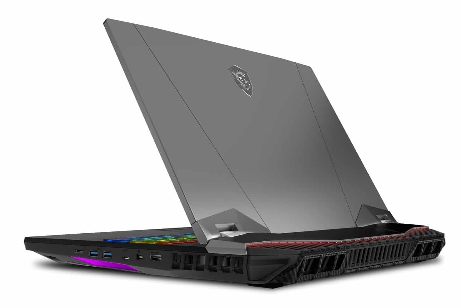 "<span class=""tagtitre"">Computex 2019 - </span>MSI GT76 Titan, 17"" gamer massif i9 8 cœurs RTX 2080"