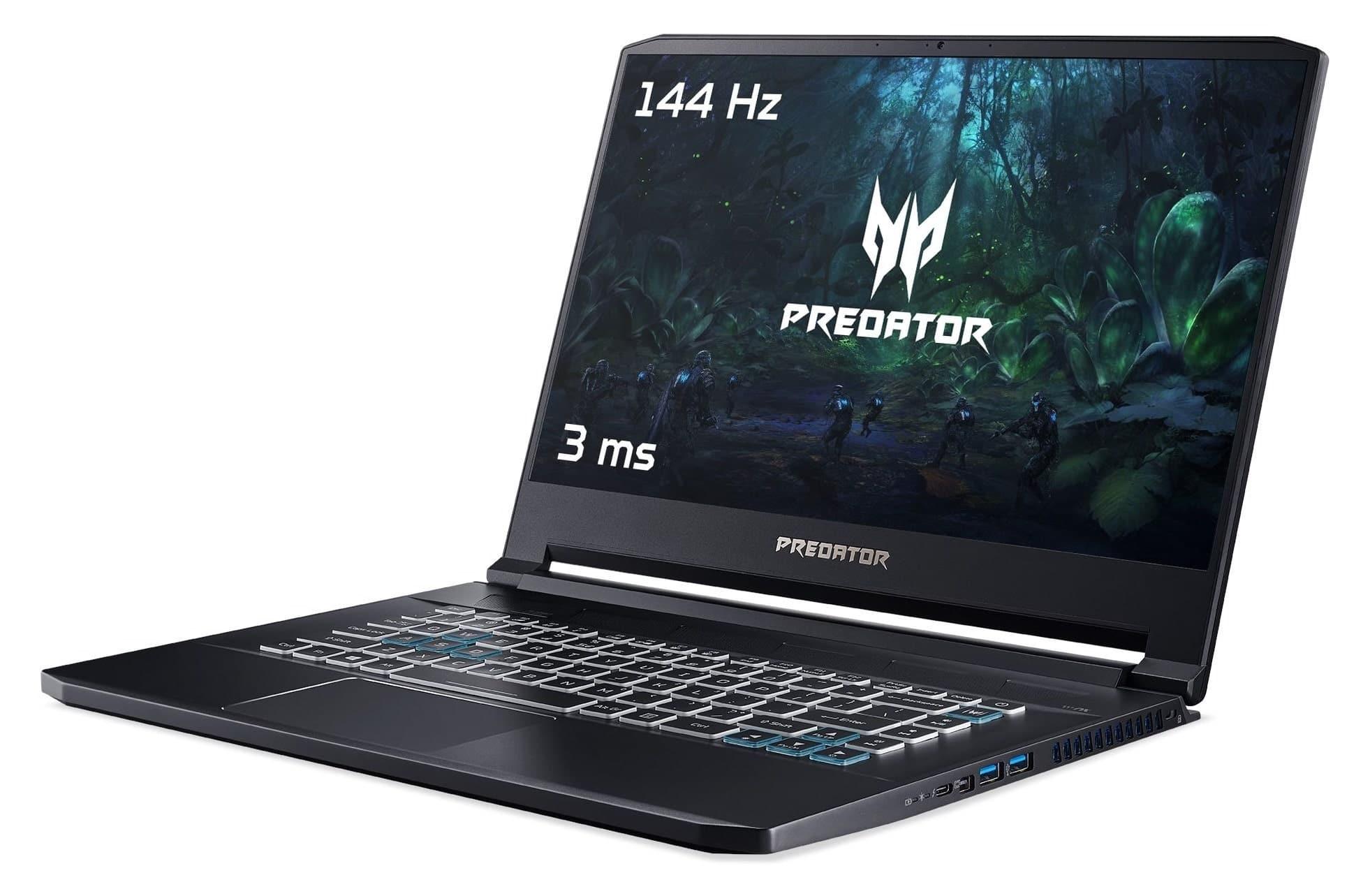 """Acer Predator PT515-51-78GK, ultrabook gamer léger 15"""" (1719€)"""