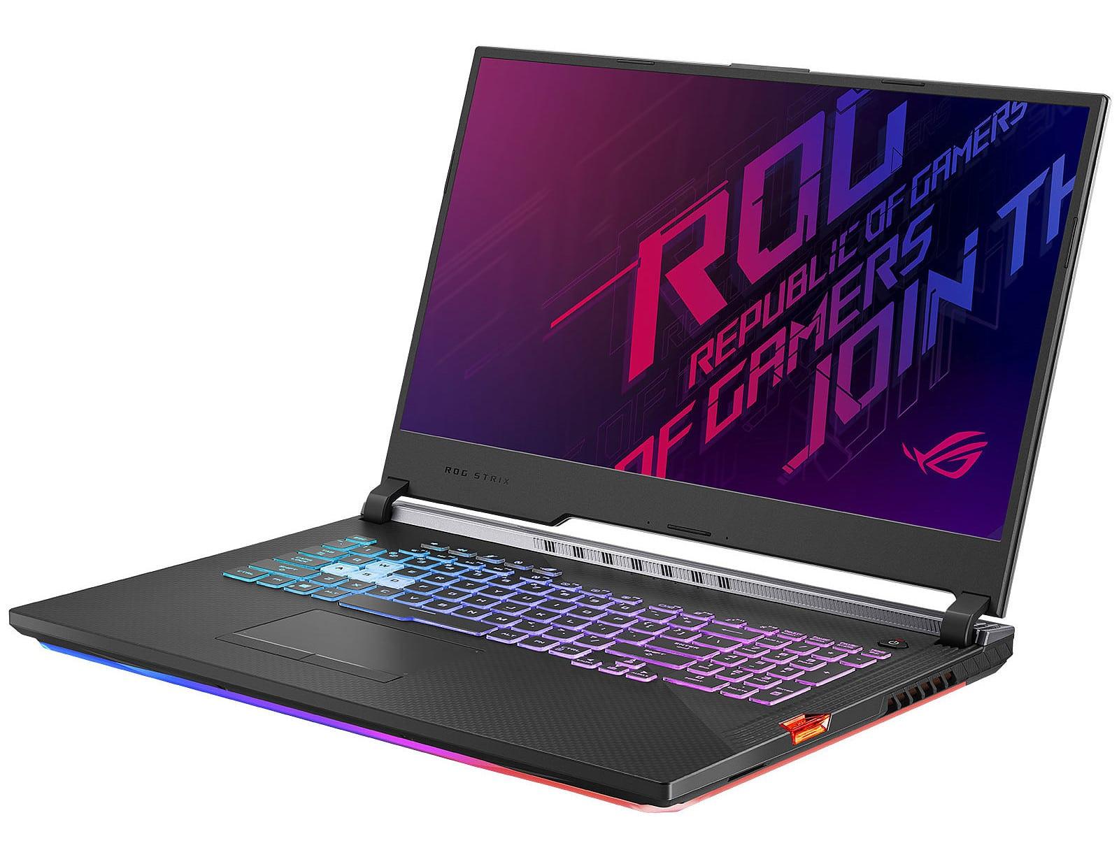 Asus Strix G G731GU-EV010T, PC jeu 17 pouces 144 Hz (1599€)