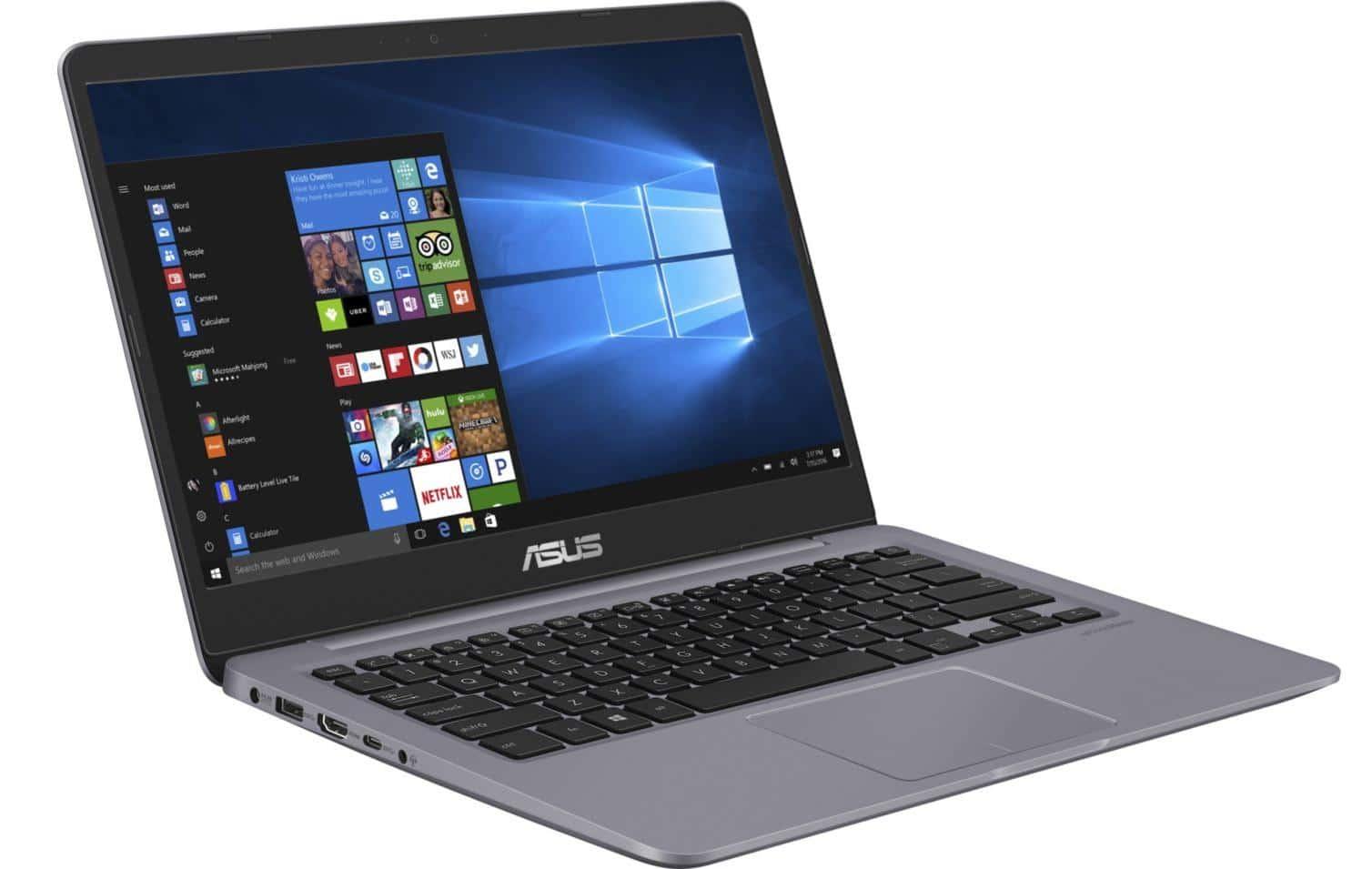 """Asus VivoBook S401QA-EB976T, 14"""" réactif pas cher (499€)"""