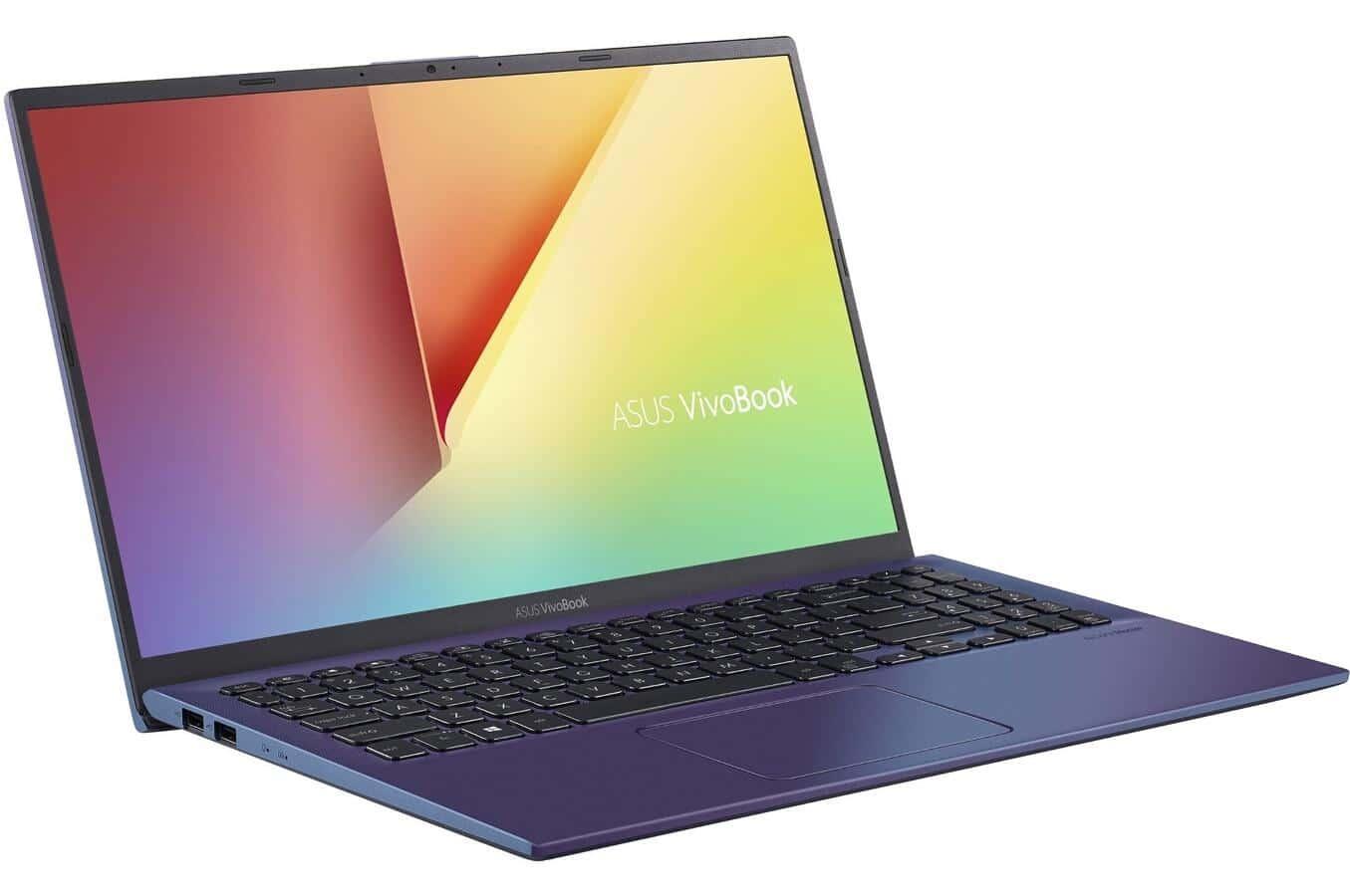 """Asus S512DA-EJ331T, ultrabook bleu 15"""" léger SSD 512 Go (639€)"""
