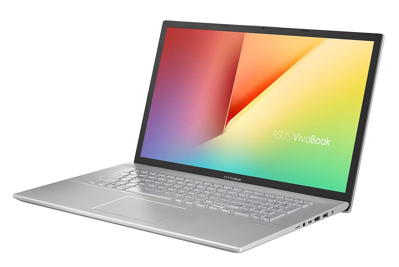 """Asus VivoBook S712FA-AU289T, 17"""" design et réactif 1.5 To (1109€)"""