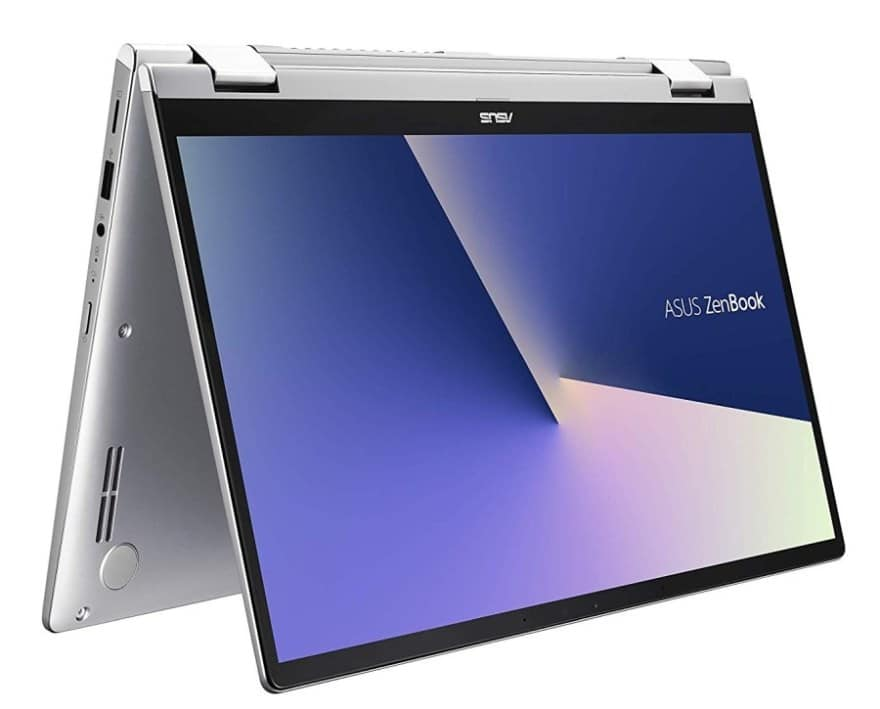 "Asus Zenbook Flip 14 UM462, PC portable 14"" Tablette AMD et NumPad"