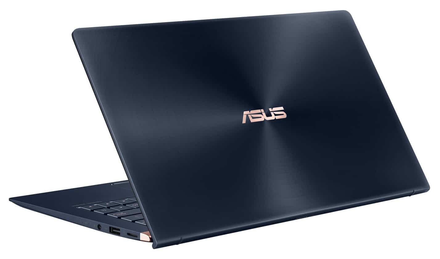 """Asus UX333FA-A4042T, 13"""" borderless pavé numérique (999€)"""