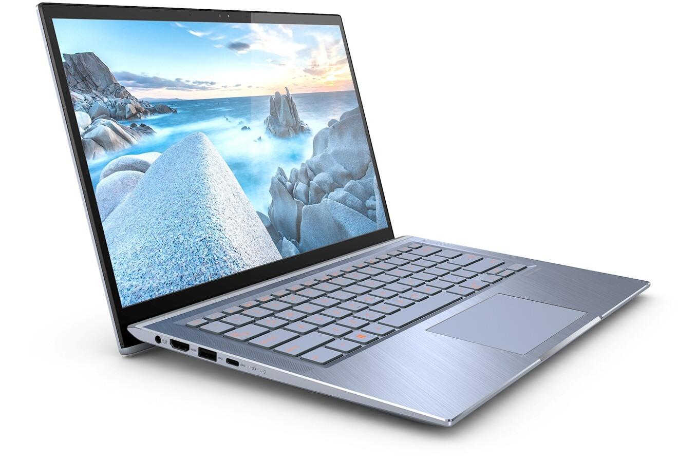 """Asus Zenbook UX431FA-AM043T, ultrabook 14"""" gris bleu (899€)"""