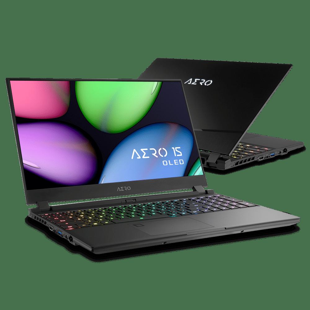 "<span class=""tagtitre"">Computex 2019 - </span>Gigabyte Aero 15 / 17, OLED, 240Hz, RTX 2080, i9"