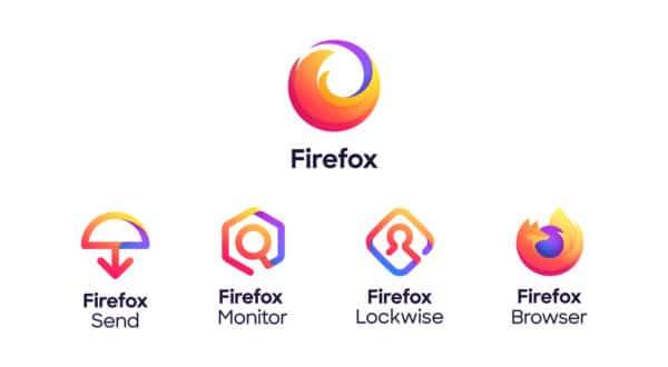 Firefox Mozilla logos 2019