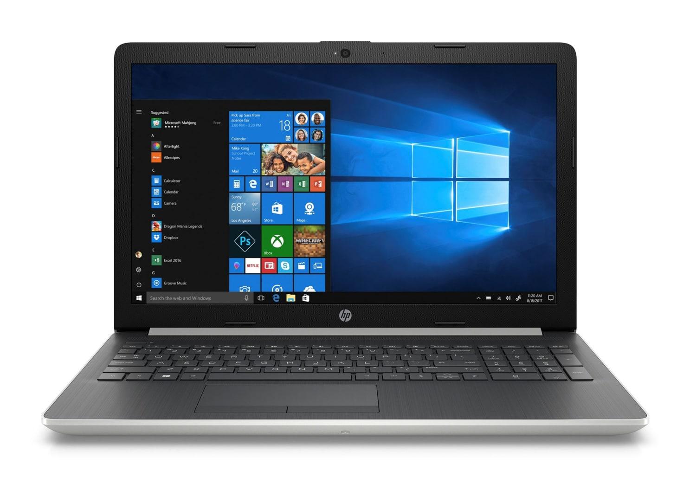 """HP 15-da0001nf, PC portable 15"""" argent DVD bureautique (469€)"""