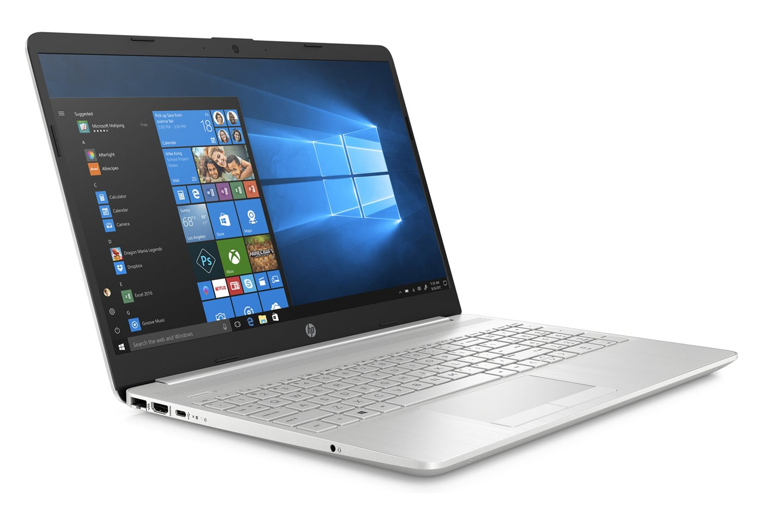 """HP 15-dw0029nf, Ultrabook 15"""" Turbo argent gros stockage (589€)"""