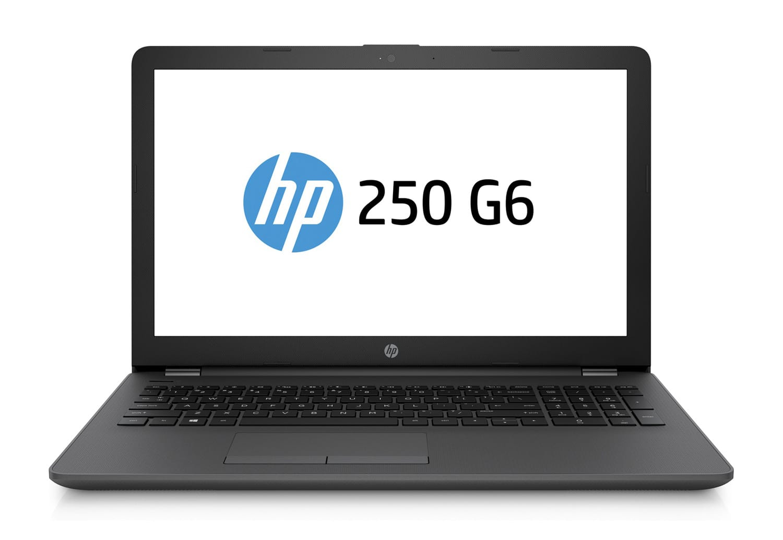 """HP 250 G6, PC portable 15"""" Pro polyvalent noir AMD léger (794€)"""