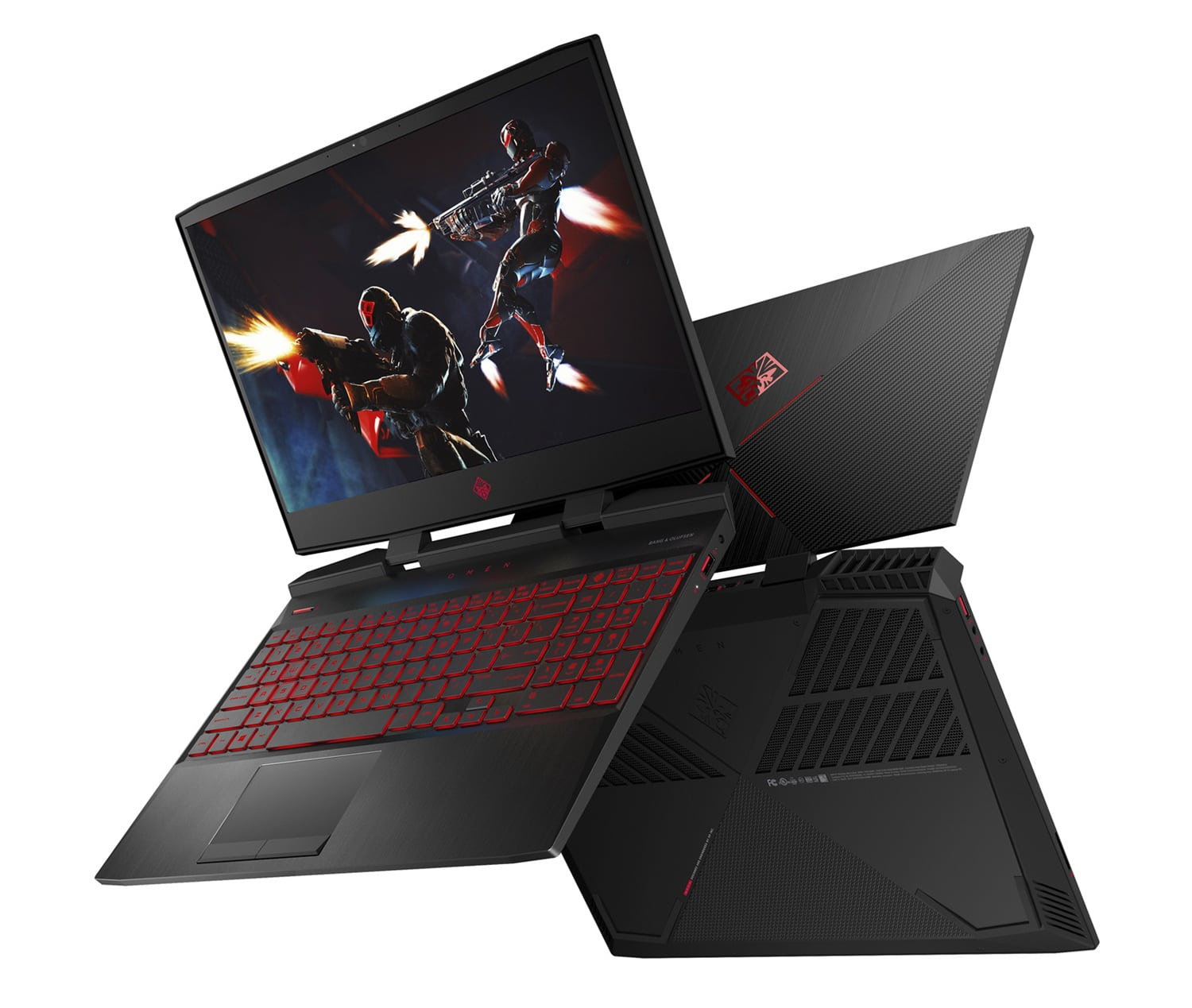 "HP Omen 15-dc1043nf, PC portable 15"" gamer GTX 1660 Ti (1009€)"