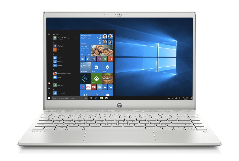 """HP Pavilion 13-an0021nf, Ultrabook 13"""" argent rapide léger (799€)"""
