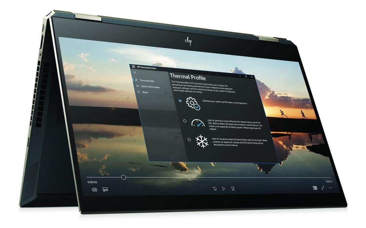 "HP Spectre x360 15-df0010nf, 15"" tablette 4K multimédia (1409€)"