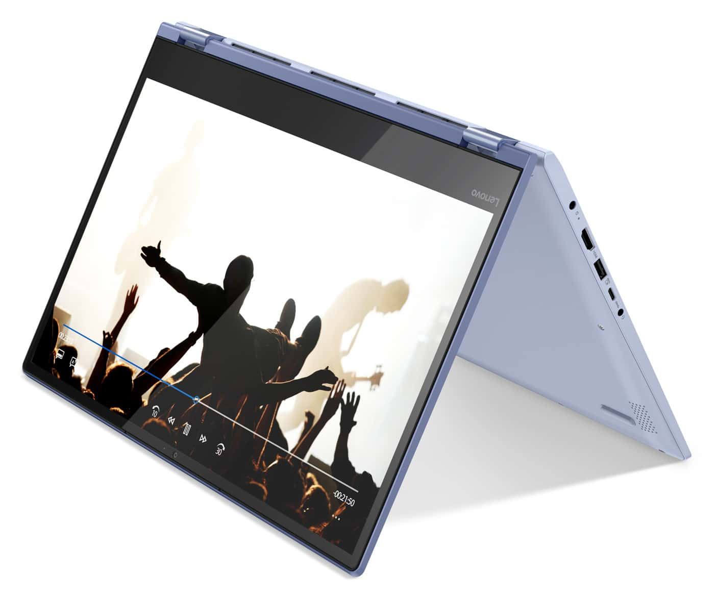 Lenovo Yoga 530-14IKB, PC tablette 14 pouces bleu (551€)