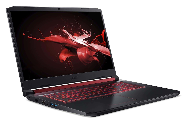 """<span class=""""promo"""">Promo 1099€</span> Acer Nitro AN517-51-79C9, PC portable gamer 17 pouces"""
