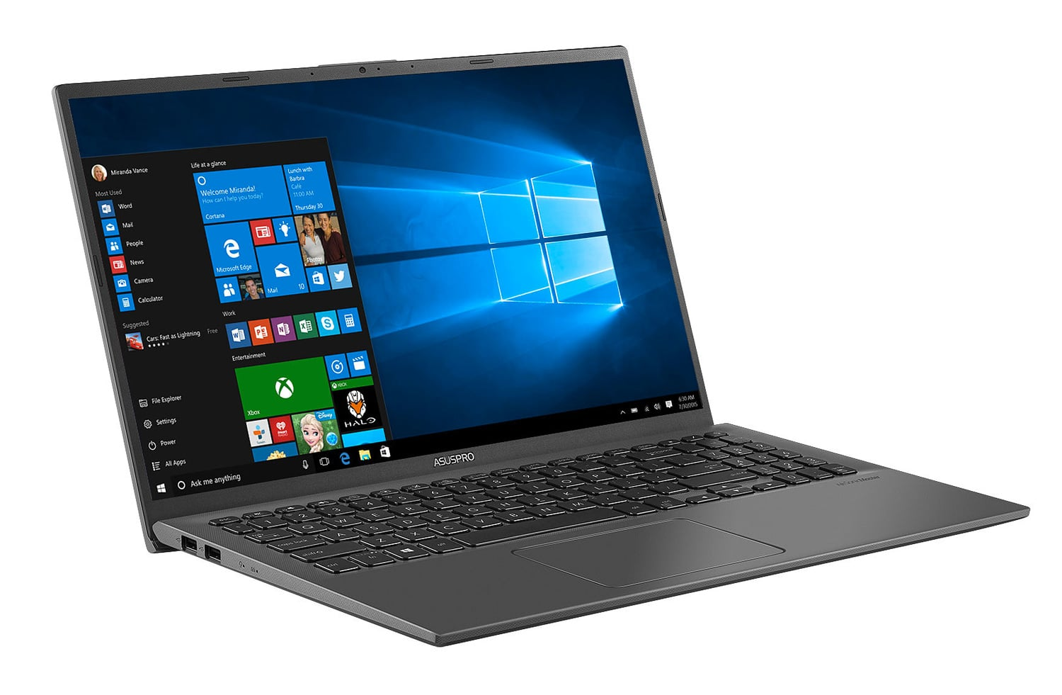"Asus P1504FA-EJ281R, Ultrabook 15"" Pro gros stockage (919€)"