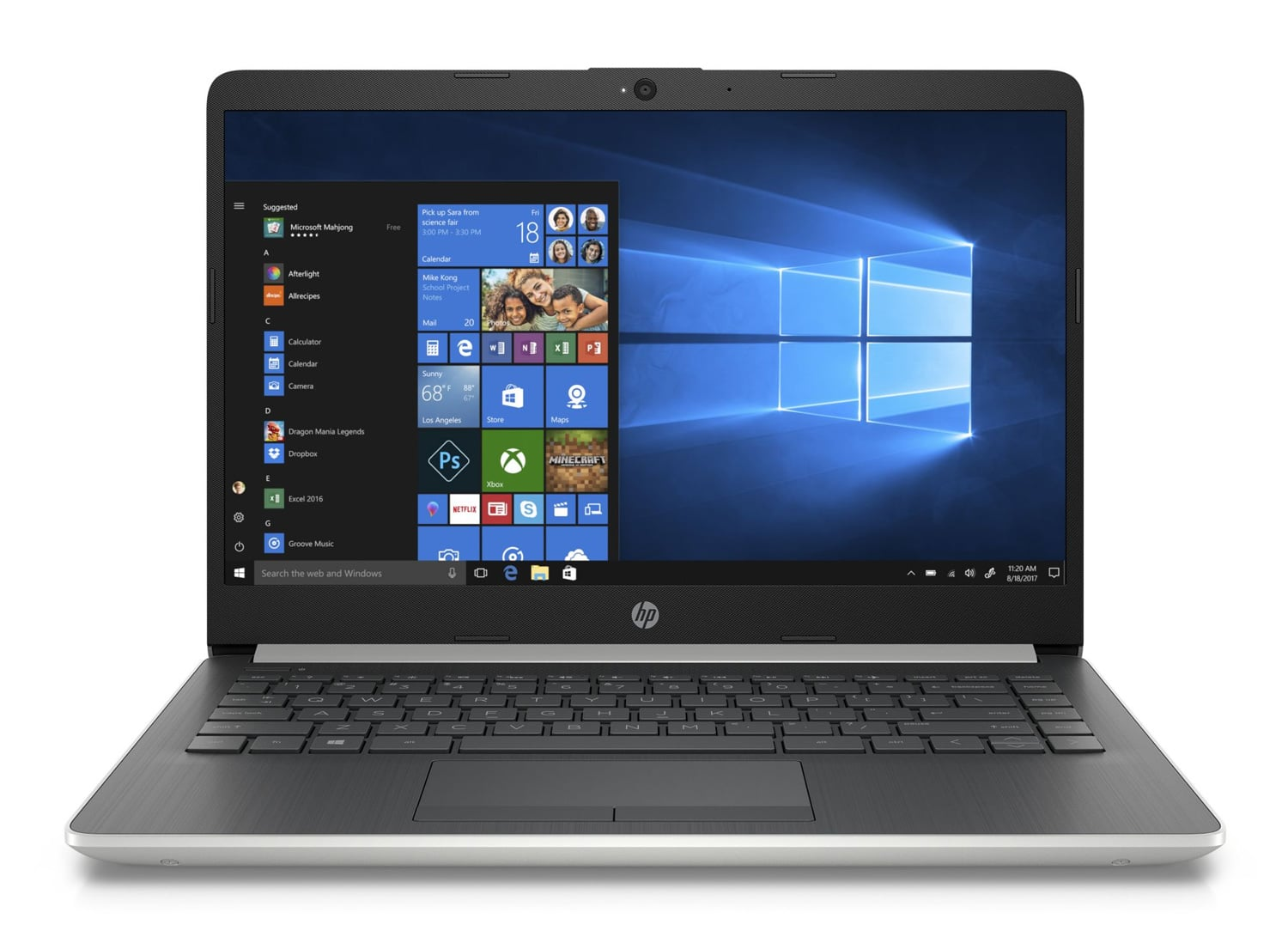 "HP 14-dk0004nf, PC portable 14"" léger gros stockage rapide (249€)"