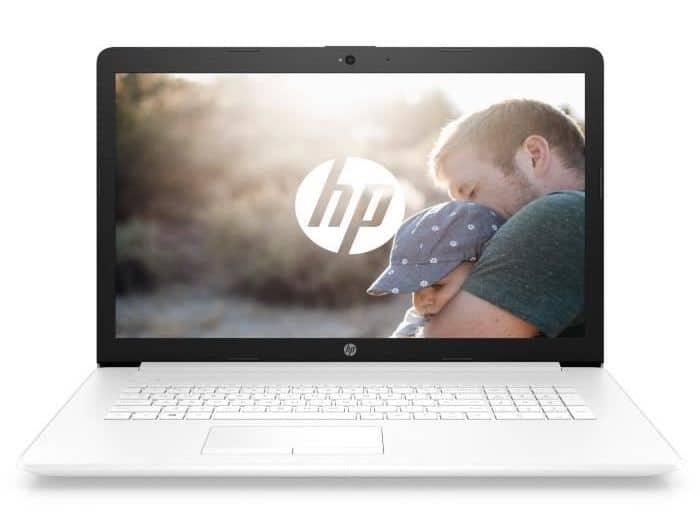 HP 17-by1001nf, PC 17 pouces blanc lecteur DVD (619€)