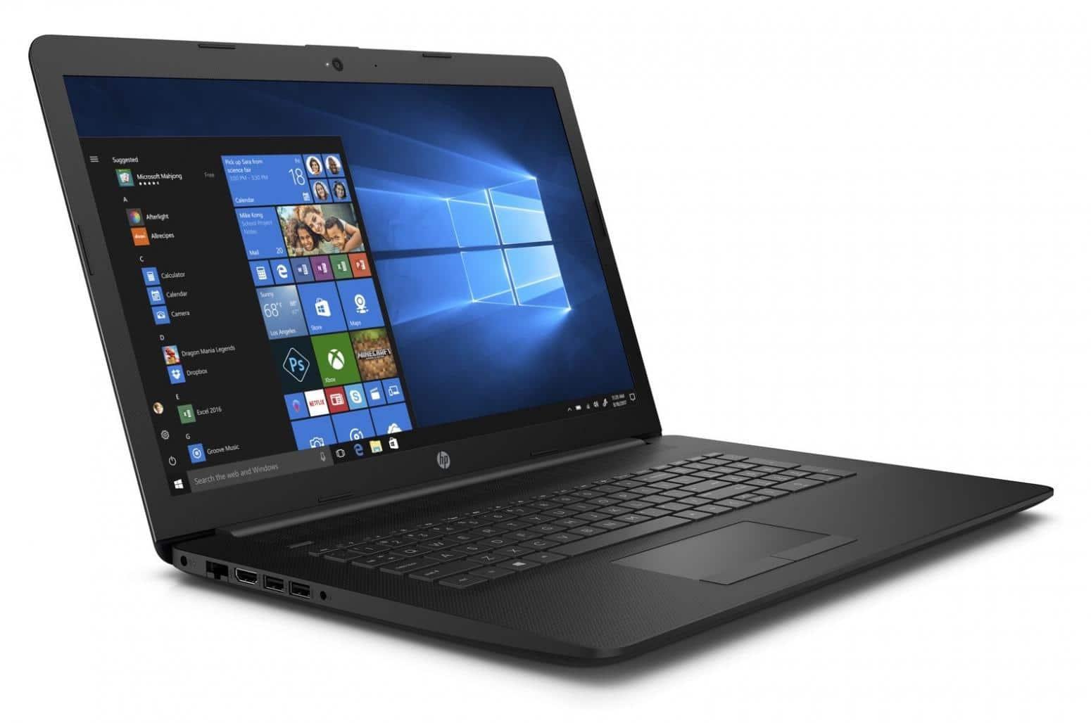HP 17-ca0019nf, PC portable 17 pouces lecteur DVD (429€)