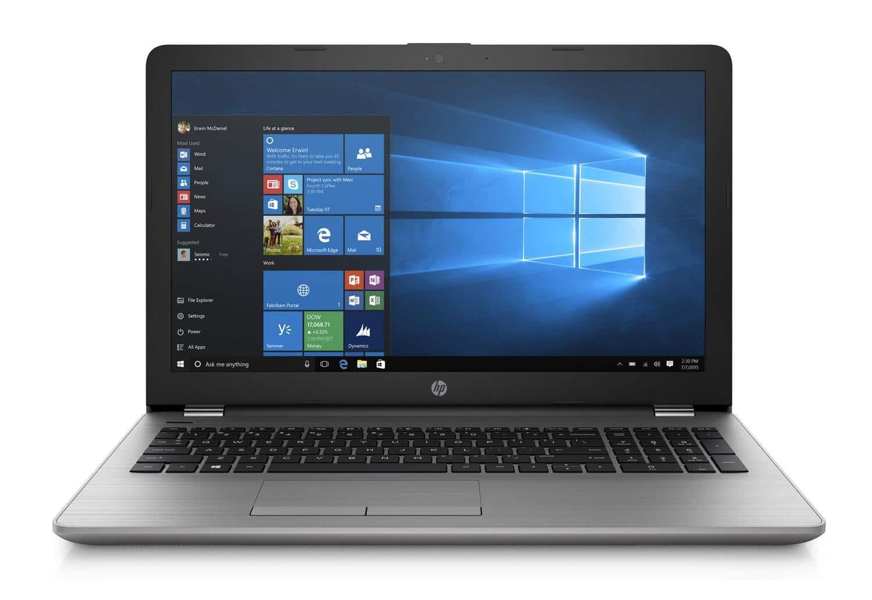"""HP 250 G7, PC portable 15"""" DVD argent rapide et léger (460€)"""