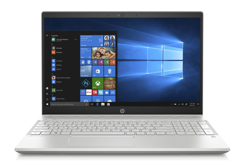 """HP Pavilion 15-cs0003nf, Ultrabook 15"""" Turbo argent léger (549€)"""