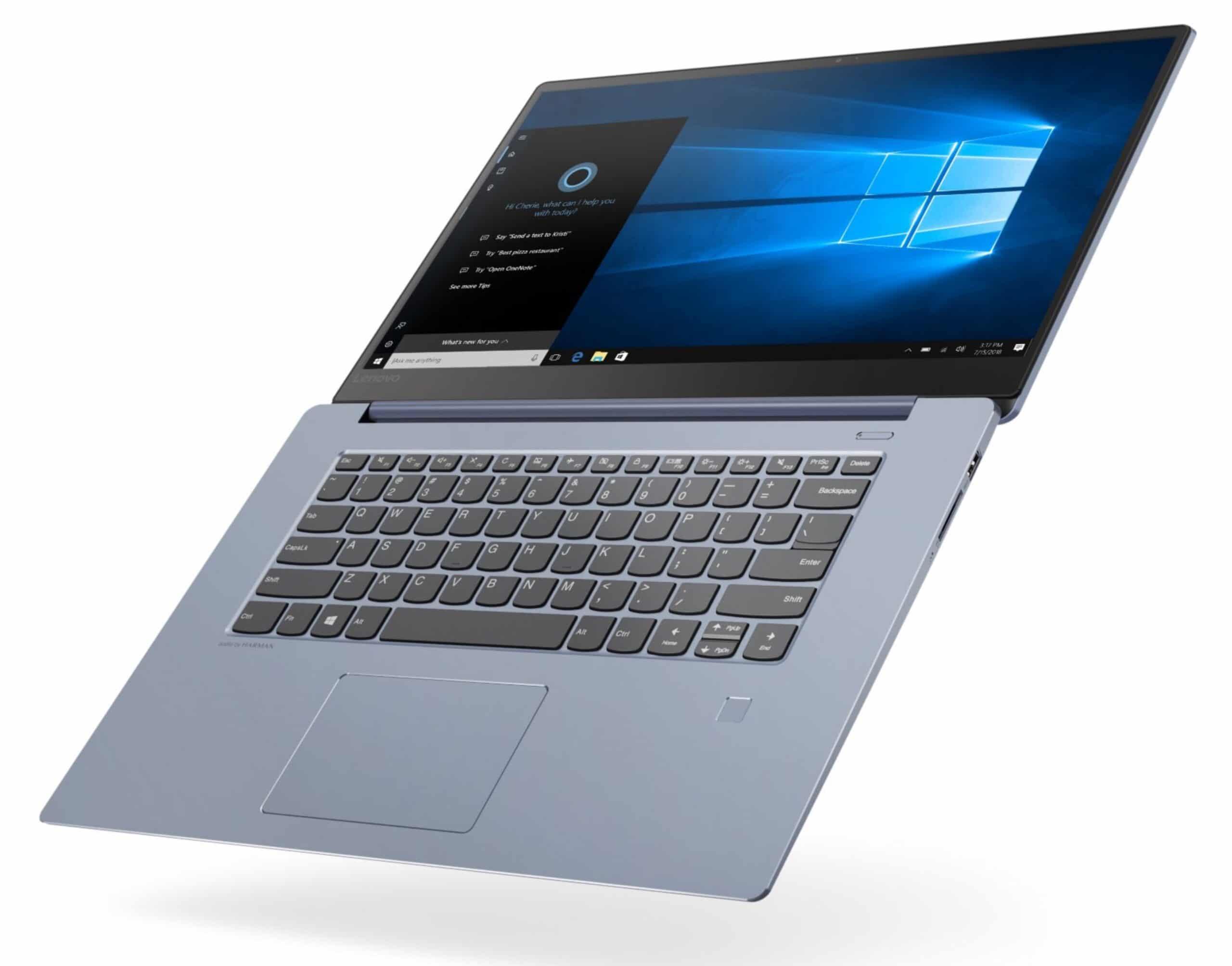 Lenovo IdeaPad 530S-15IKB, ultrabook bleu 15 pouces (848€)