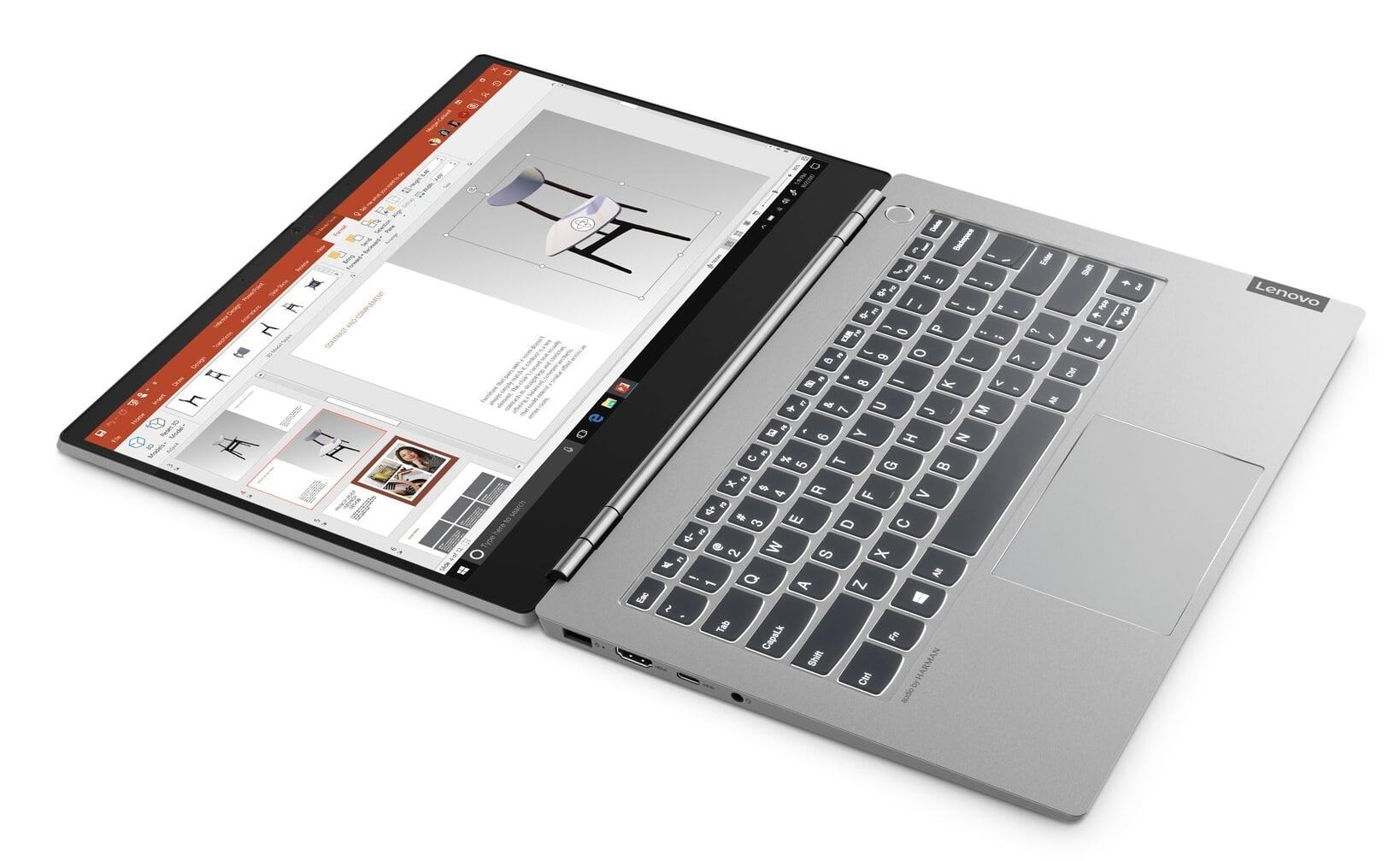 """Lenovo ThinkBook, nouveaux Ultrabooks aluminium de 13"""", 14""""et 15"""""""