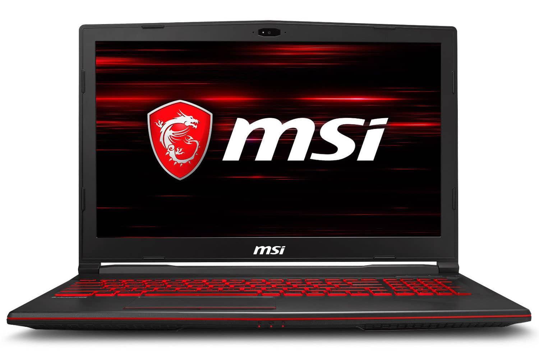 MSI GL63 8SD-817XFR, PC 15 pouces joueurs (1199€)