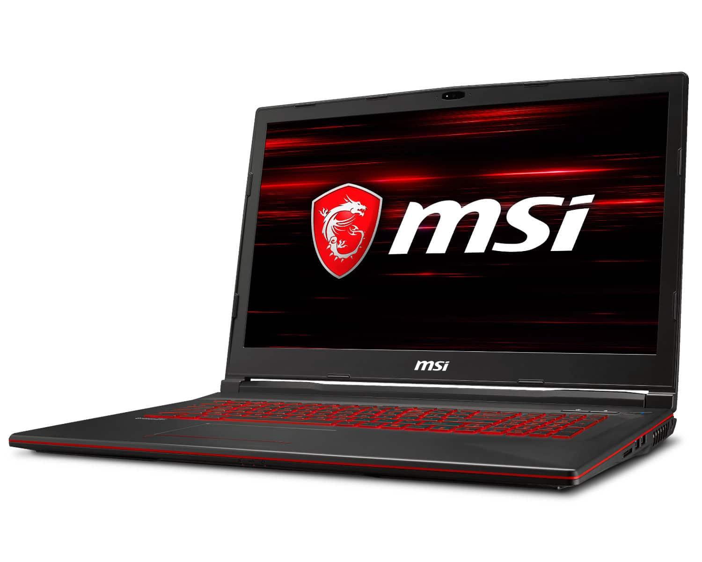 MSI GL73 8SE-076FR, 17 pouces gamer RTX 2060 (1599€)