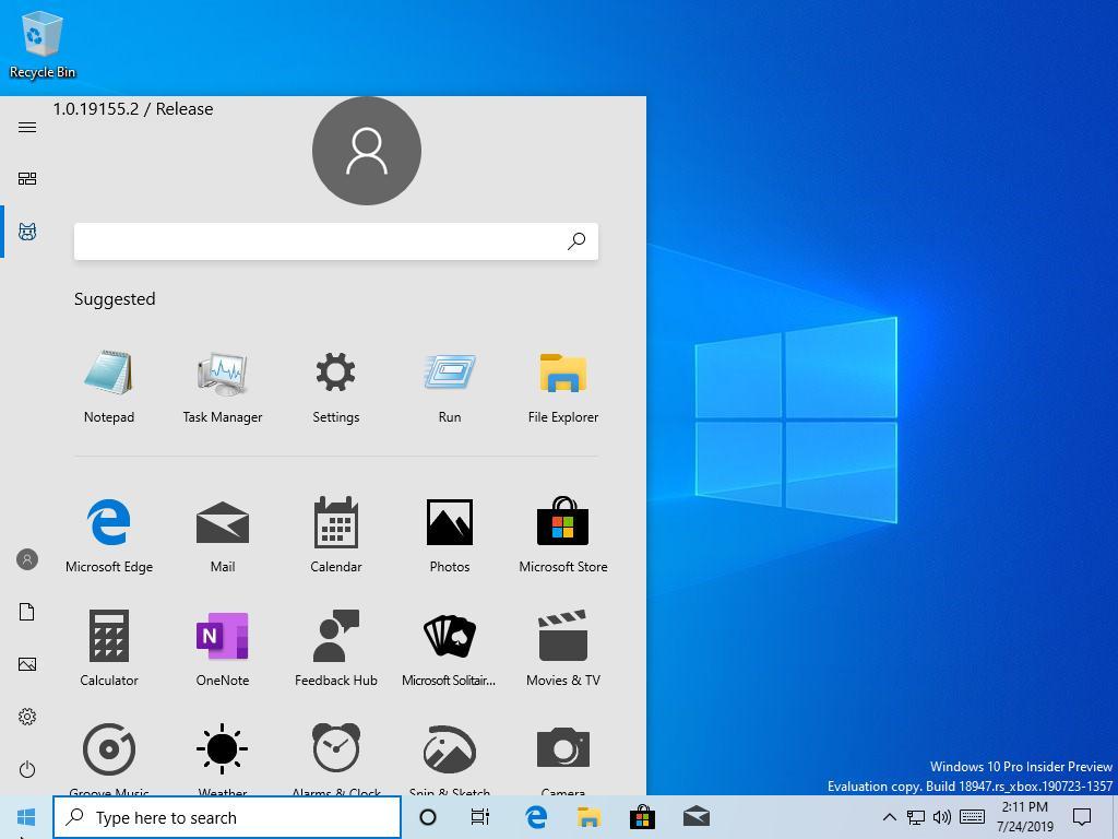 """<span class=""""tagtitre"""">Windows 10 - </span>vers un nouveau menu Démarrer sans tuile?"""
