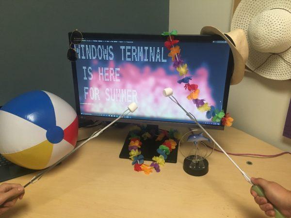 Windows Terminal fin juin 2019