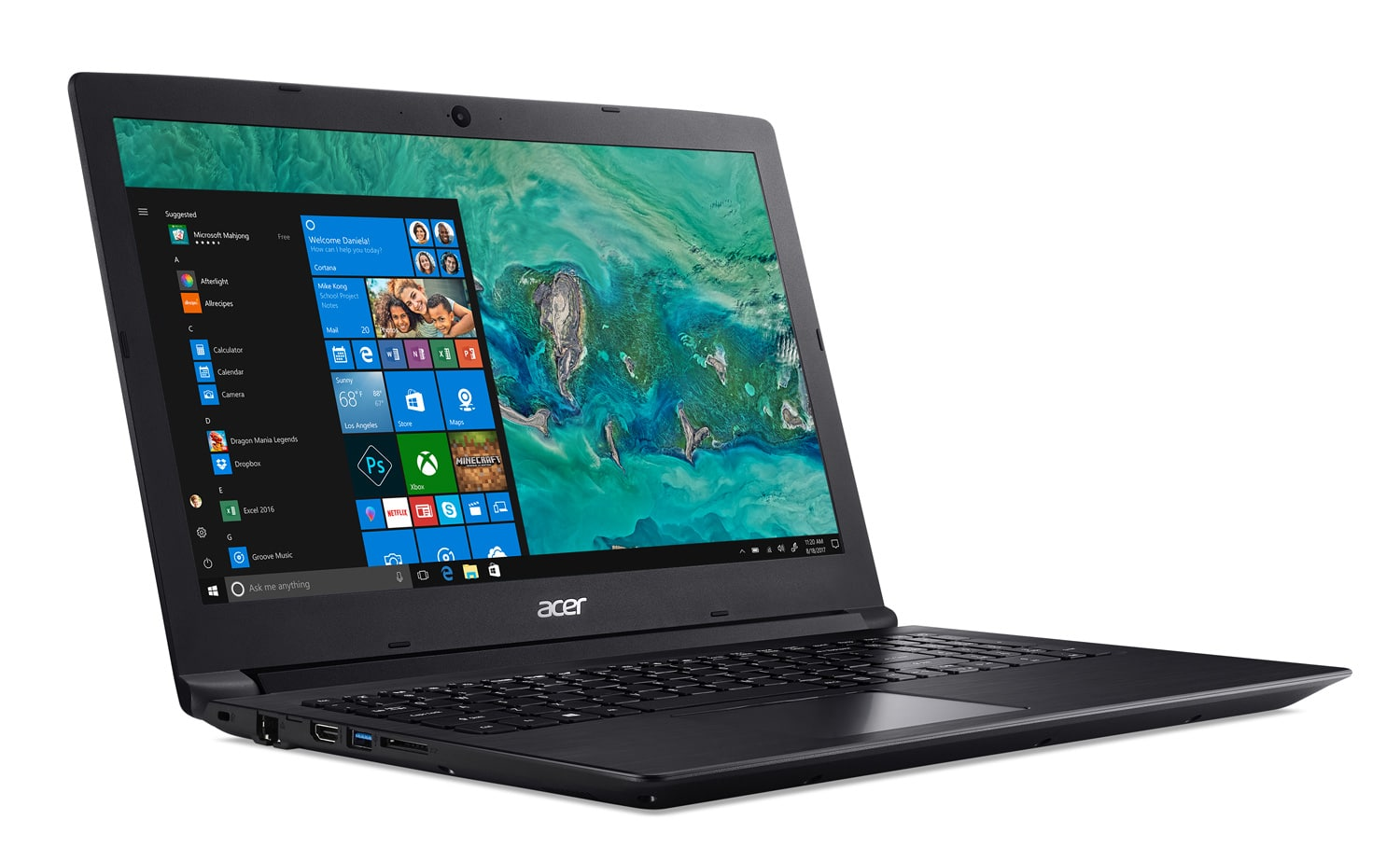 "Acer A315-53-P4AF, Ultrabook 15"" gros stockage pas cher (353€)"