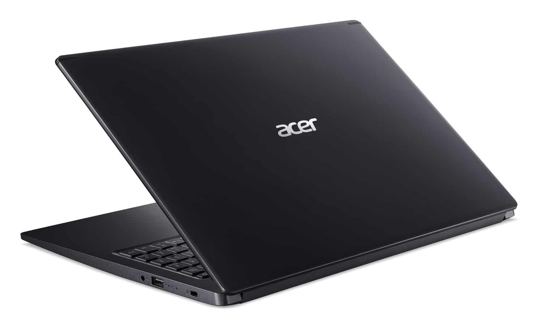 """Acer A515-54-52SK, Ultrabook 15"""" noir rapide léger 7h (629€)"""